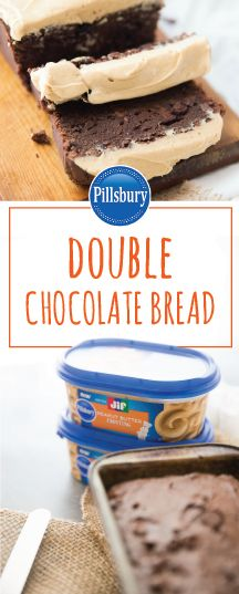 What makes chocolate more delicious every time—peanut butter, of course! Check out this recipe to see how the new Pillsbury™ Jif® Peanut Butter Frosting and a rich Double Chocolate Bread combine to create a truly iconic flavor duo. This baked good may even become your family's favorite treat! And don't forget to head over to your local Kroger to grab all the ingredients you'll need.