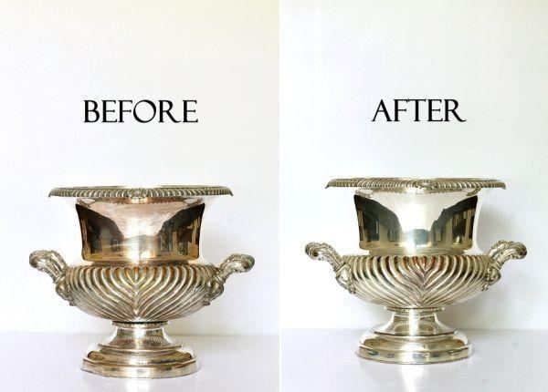 Tuz ve kabartma tozu yaygın ev yapımı temizlik ürünlerinde kullanılır. Size gümüşleriniz için kullanabileceğiniz çok güzel bir önerimiz var. Tuz ve Kabartma Tozunu Islatıp gümüşlerinizi ovalarsanız parlaklık ve temiz bir görüntü elde edersiniz.