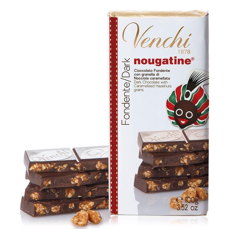Nougatine chocolate bar
