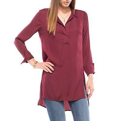 Me gustó este producto Basement Blusa Espalda Larga Burdeo. ¡Lo quiero!