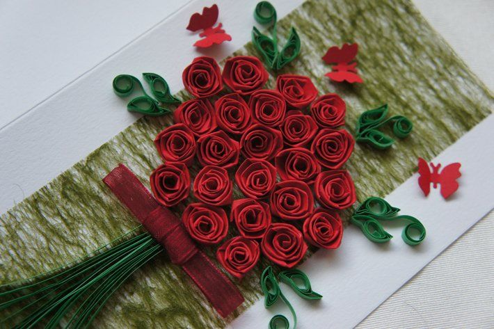 Rose flower rose flower quilling learn how to make a quilling rose mightylinksfo