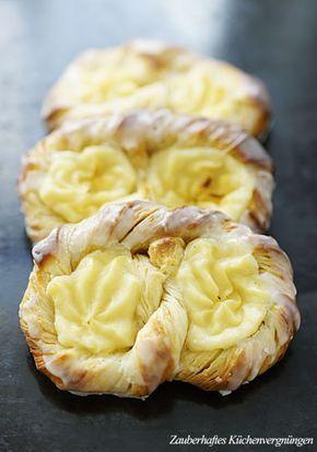 Zauberhaftes Küchenvergnügen: Puddingbrezeln