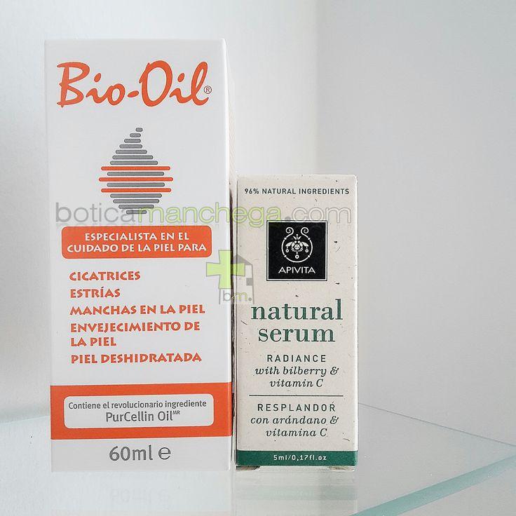 PROMO Bio-Oil + #serum #Apivita ( #Hidratación, #resplandor, #antiarrugas y #firmeza ) #BoticaManchega #biooil #beauty #cuidado #skincare #piel #promoción #verano Pedidos: www.boticamanchega.com