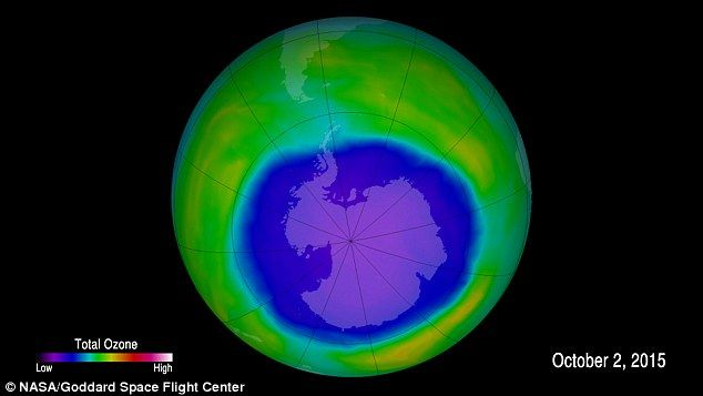 The hole in the ozone layer over the Antarctic has finally begun to 'heal' after persisting for years. A new study has recorded an ozone increase in the icy region, suggesting the agreement signed nearly three decades ago to limit the use of substances responsible for ozone depletion, is having a positive effect