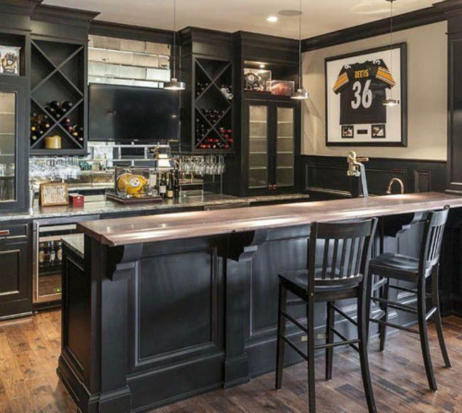 Luxury Basement Designs: Basement Bar Plans, Home Bar Designs