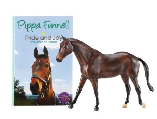 Breyer Pippa Funnell's Primmore's Pride Horse and Book