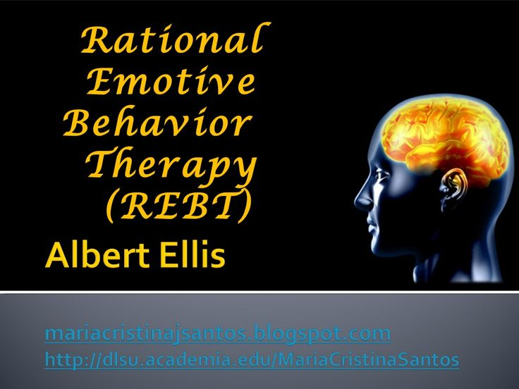 Rational Emotive Behavior Therapy by Cristina Santos via slideshare