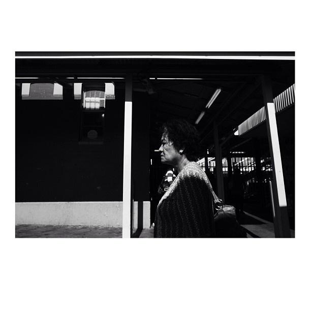 Outside Fairfield Station. Si. #fcnphoto #thechampions #fujifilmxpro1 #dailylife #sydney #sydneylife #sydneycommunity #australia #streetbw #streetphotography #igerssyd - @iamsibennett- #webstagram