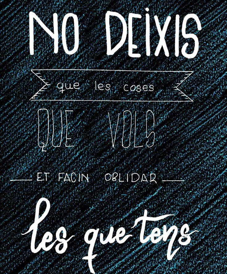 Frases en català. Frases boniques. Frases positives
