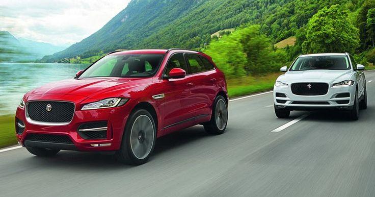 Jaguar Prices New F-Pace SUV From $40,990 #Jaguar #Jaguar_F_Pace