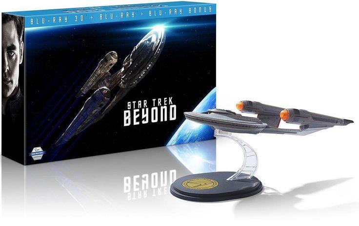 Coffret Blu-ray Star Trek Sans Limites - Collector vaisseau spatial USS Franklin - Blu-ray 3D   2D   bonus à 53,09€ au lieu de 58,99€