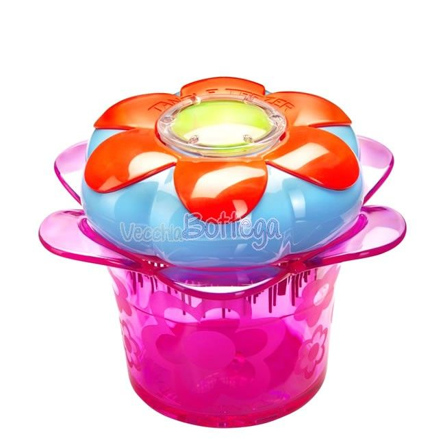 Tangle Teezer Flowerpot - Da Tangle Teezer una spazzola districante a forma di fiore progettata per le bambine. La fatina dei capelli ha agitato la sua bacchetta magica e ha creato Magic Flowerpot. #Tangleteezer #vecchiabottega #negoziobio #spazzolacapelli