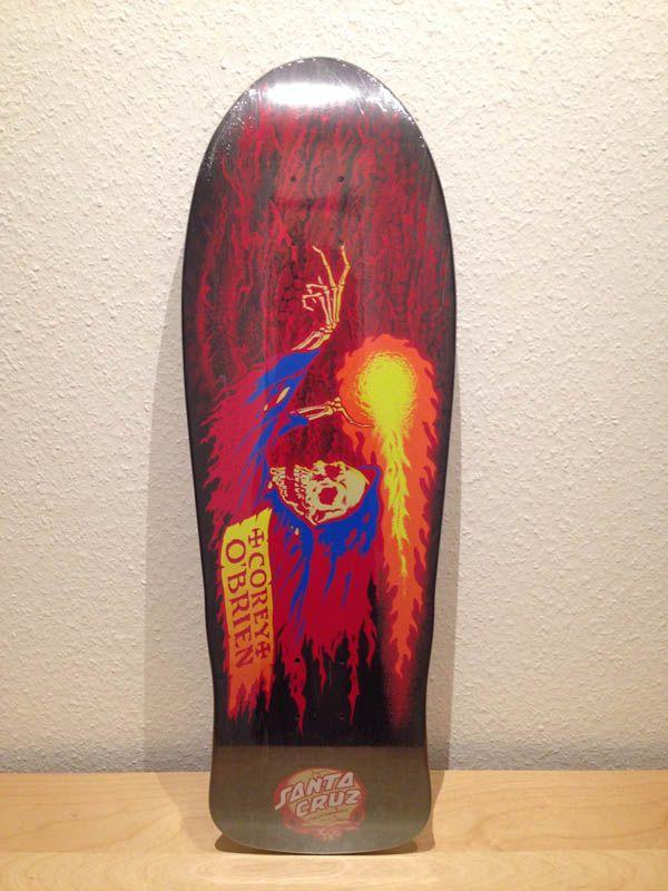 corey o'brien reaper reissue, santa cruz | Skateboarding ...