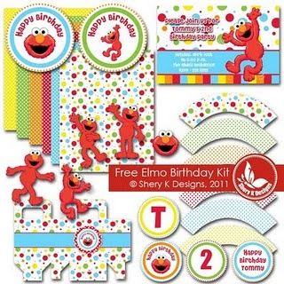 Free elmo birthday printables - can't wait to use this for my daughter's birthday party!