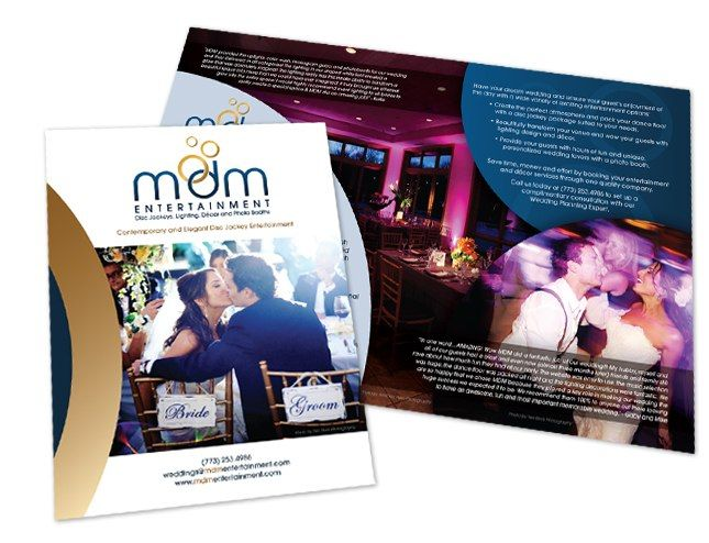 Wedding DJ and Event Company Marketing Materials | Art Inspiration ...