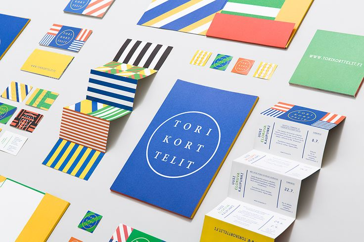 visual identity forTorikorttelit / designed by Kokoro & Moi