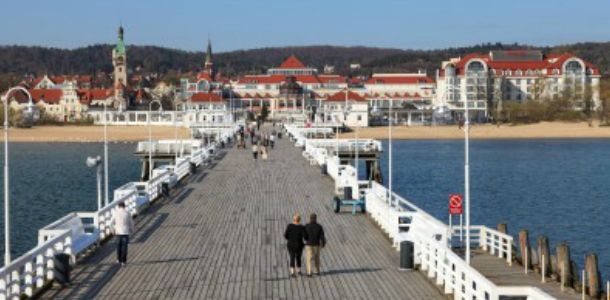 Gdansk-Gdynia-Sopot (Tricity) on the Baltic Sea. Each city offers a very different atmosphere, from historical Gdansk through modern and progressive Gdynia to touristic and relaxed Sopot.