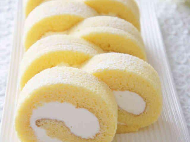 ⁂ふわふわロールケーキ⁂共立ての画像