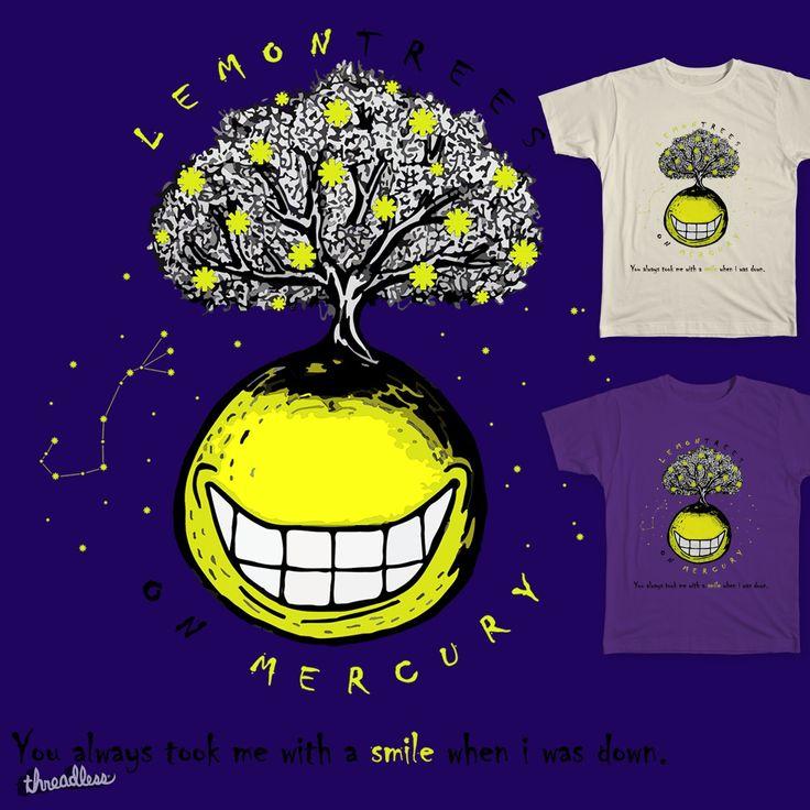 Lemontrees on Mercury on Threadless