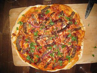 Marias Madside: Amerikansk barbeque pizza med koriander-pift