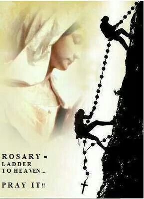 Pray your Holy Rosary.