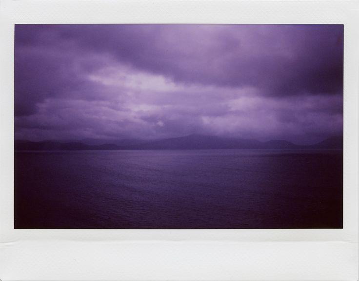 Ireland by Alessandro Pautasso  Fuji Instax 210 + violet filter   www.nosurprises.it   Instagram: kaneda99