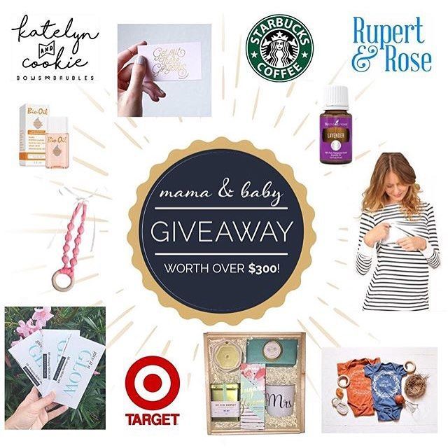 ✨ Mama & Baby Giveaway ✨  I have partnered with a great group of Mama's, Bloggers, and Small Shops for an awesome giveaway! One mama will win all of these amazing goodies for her and her little one! Here is how you enter: 1. Follow each account listed 2. Like this photo on each account 3. Tag 3 friends You must complete all 3 steps to qualify to win.  @babyandtheblonde - $25 Target Gift Card  @shopmilkandbaby -$50 shop credit @thevintagehoneyshop-$25 shop credit @queencitylifestyle- Rodan…