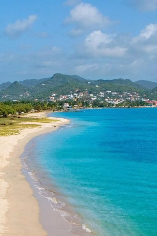 The beach at the Landings offers soft sand, gentle surf and views of the verdant hills. The Landings St. Lucia - All Suite Resort (Gros Islet, St. Lucia) - Jetsetter