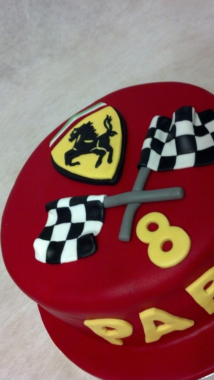 Ferrari cake.