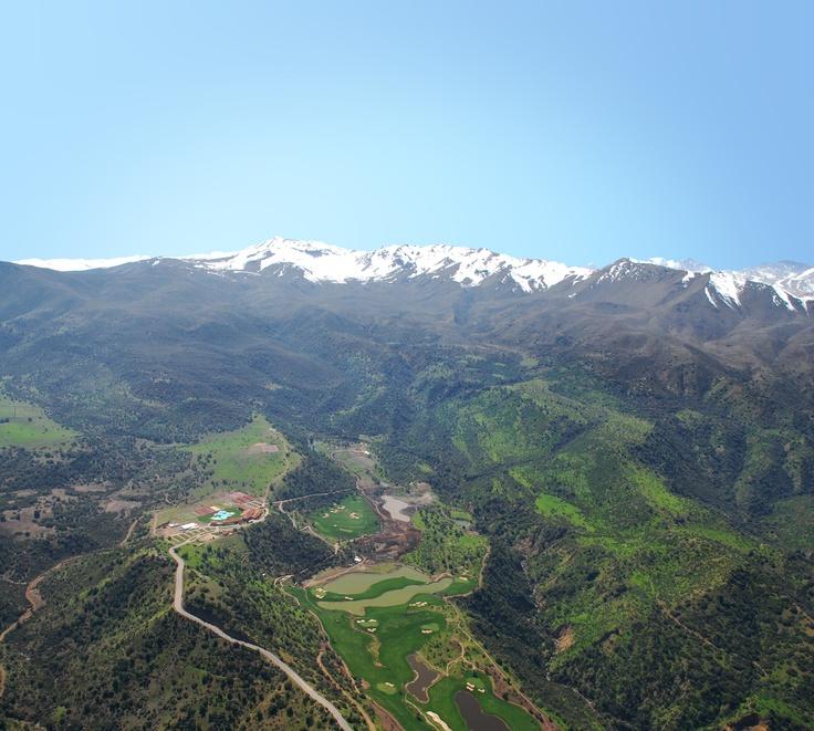 Vista aérea de Hacienda Santa Martina
