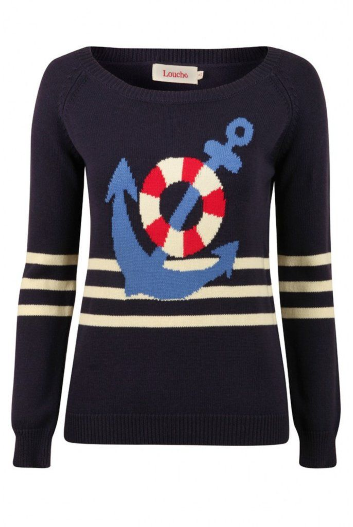 Louche Napoleon Anchor Jumper