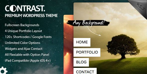 CONTRAST - ThemeForest Item for Sale