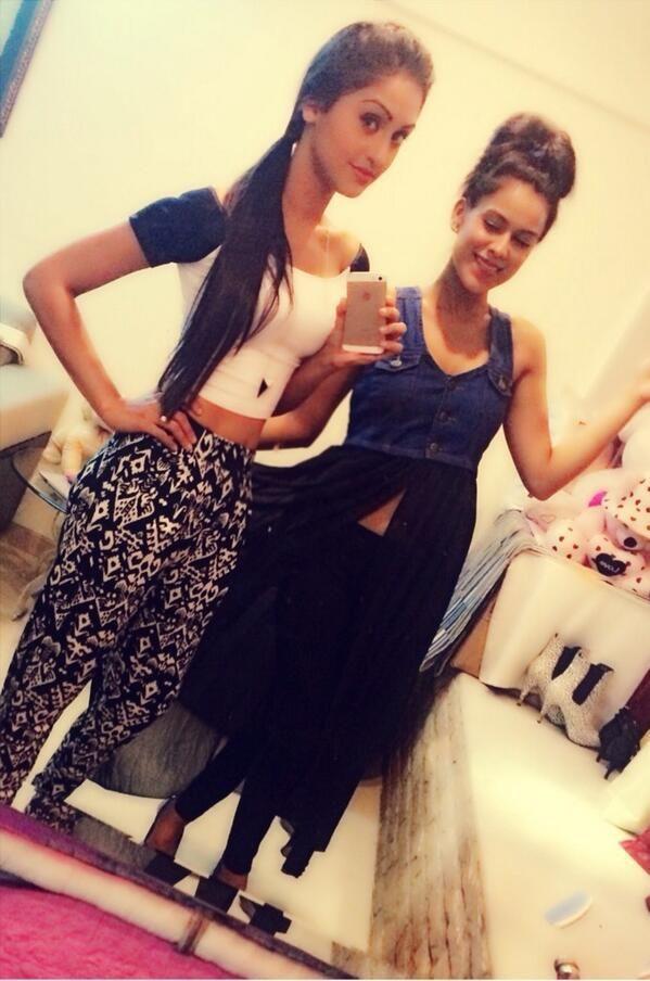 Krystal D'souza and Ni Sharma