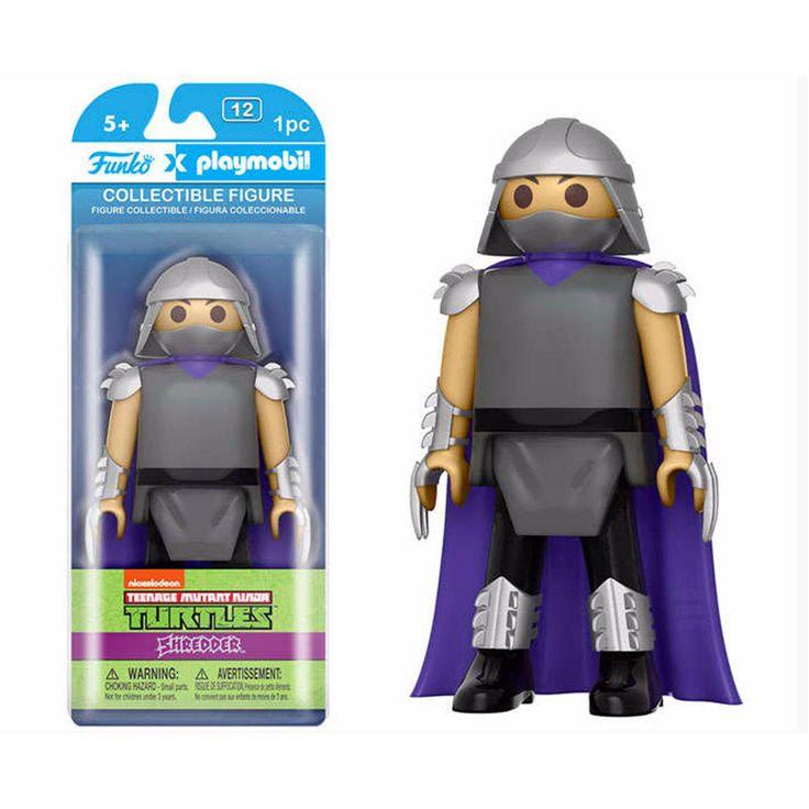 Funko Playmobil Teenage Mutant Ninja Turtles Shredder Action Figure