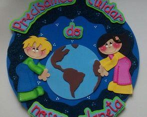 Placa de porta - Meio Ambiente III