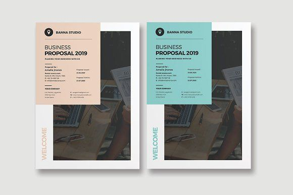 Project Proposal by World Print on @creativemarket