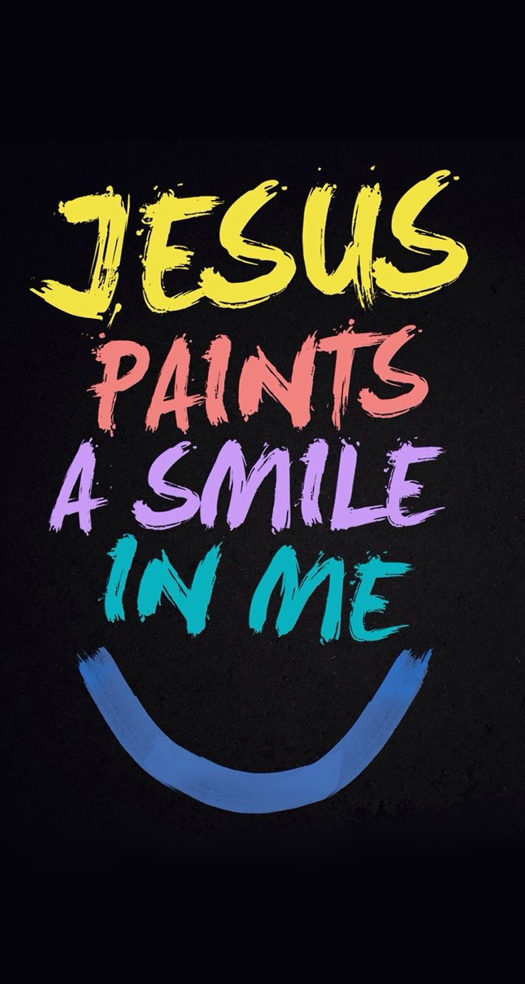 Wallpaper iphone jesus - Jesus Paint A Smile In Me Iphone 5 Wallpaper Mobile9 Click To Download Free Wallpapers