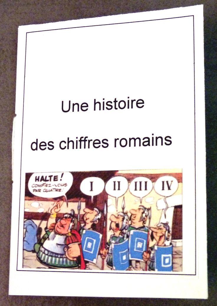 histoire des chiffres romains