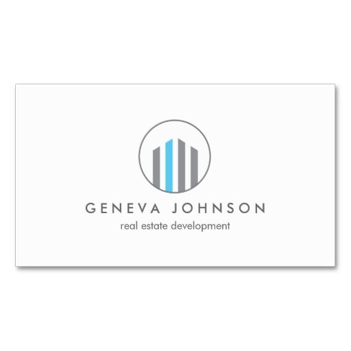 38 best business cards for real estate realtors and brokers images modern buildings logo for real estate realtors business card reheart Images