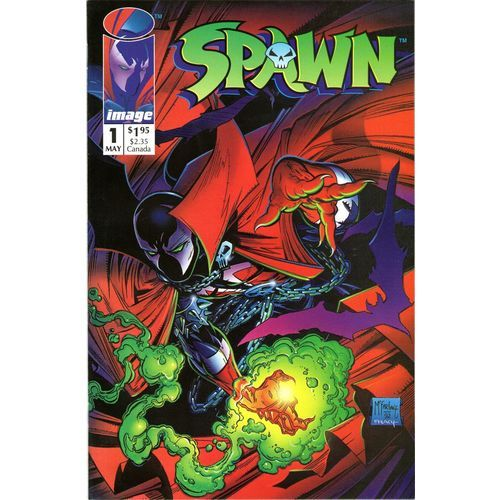 Spawn #1. Image May 1992. 1st Print. Direct Edition. McFarlane. VFN+/NM £24 www.luckytargetcomics.com #spawn #1 #toddmcfarlane #imagecomics
