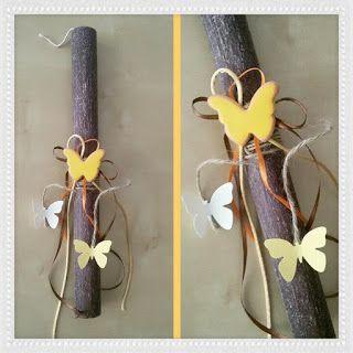 handicrafts: Πασχαλινές Λαμπάδες 2016 (4)