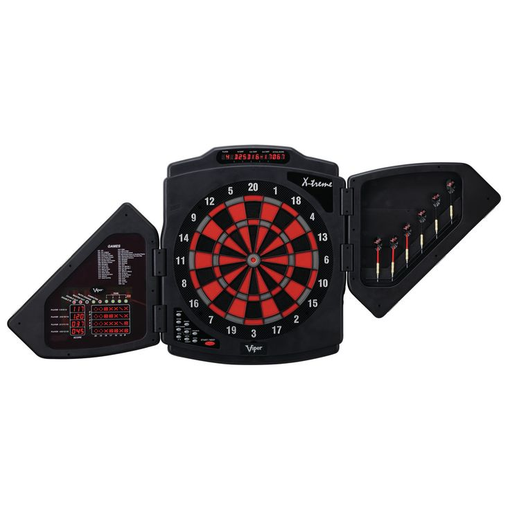Viper X-Treme 15.5-inch Regulation Electronic Soft Tip Dartboard