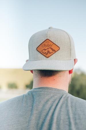 e744c615915a7 Modish Wanderer Grey North Beach Snapback Hat