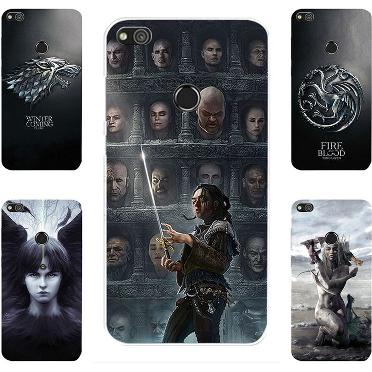 Fashion GOT Game Of Throne House Stark Lannister Targaryen Hard PC Painting Case For Huawei P8 Lite 2017 Cell Phone Printed Case - Direwolf Shop Direwolf Shop
