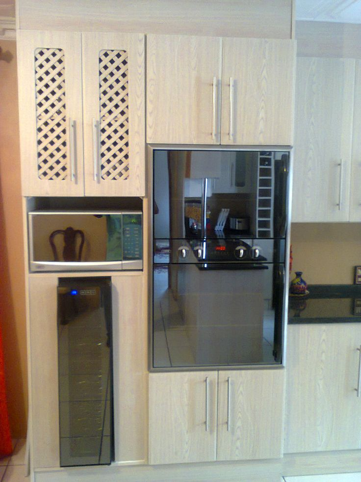 Balsa kitchen  Latice doors