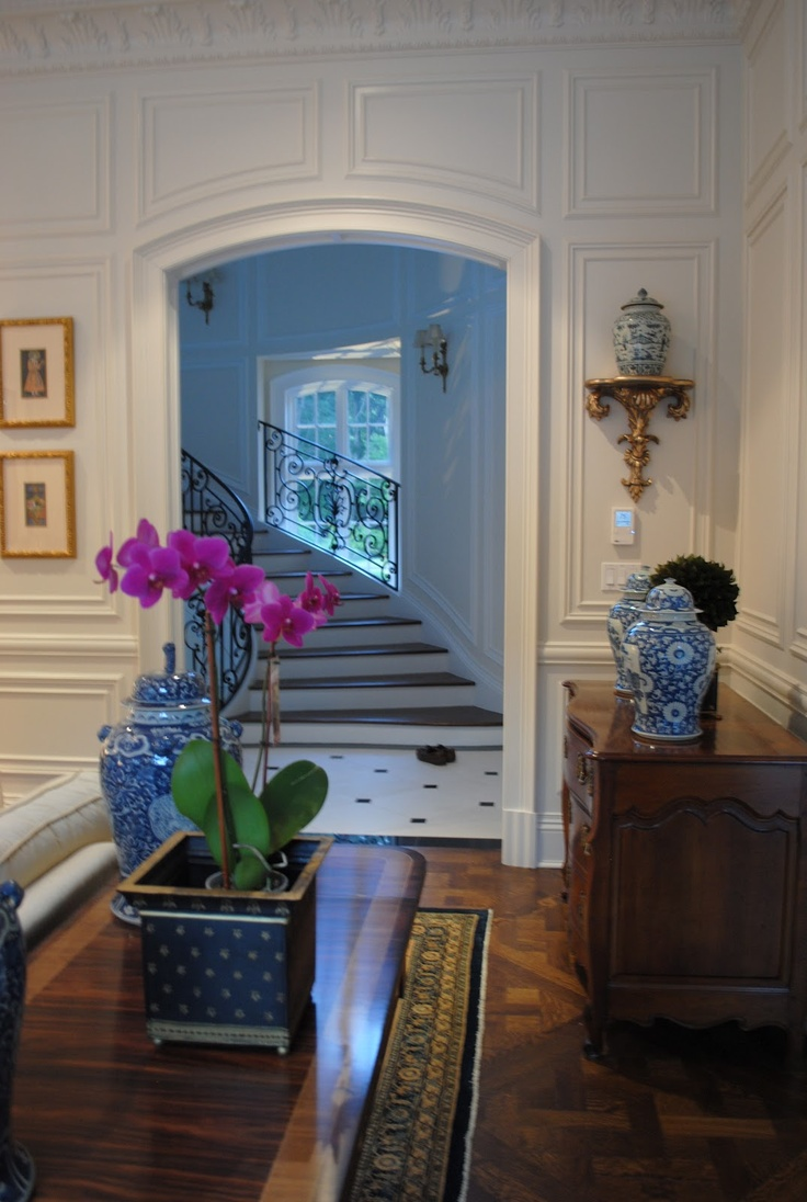 195 best Entry Foyer & Stairs - French Country & Traditional images ...