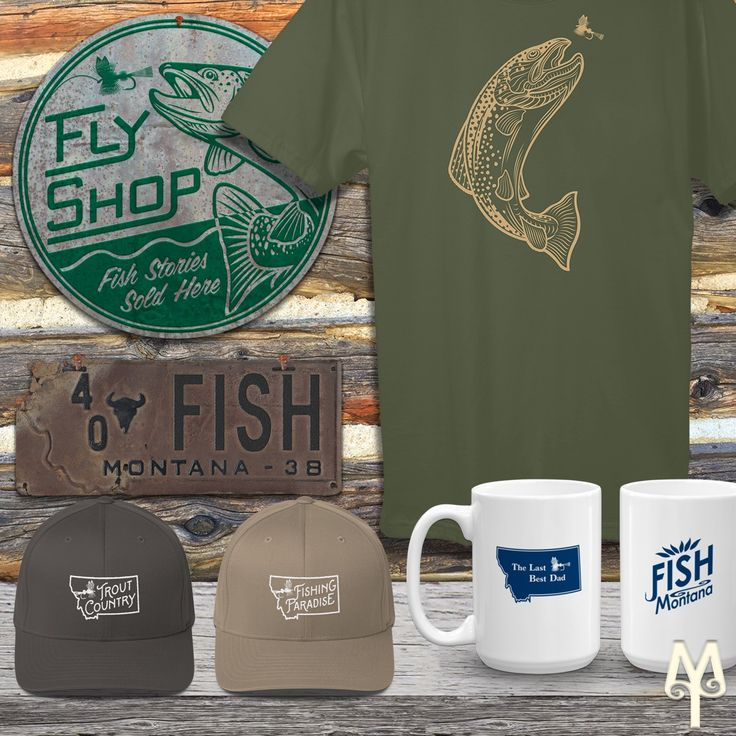Don't forget 'The Last Best Dad' this coming Father's Day! Drop by the Montana Treasures store and pick up a souvenir of what will undoubtably be a fantastic Summer of fishing and hiking in southwest Montana.