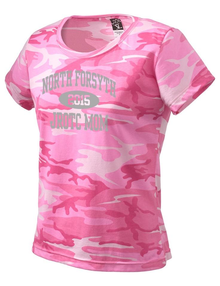 55 best pink camo images on pinterest camo stuff for Jrotc t shirt designs