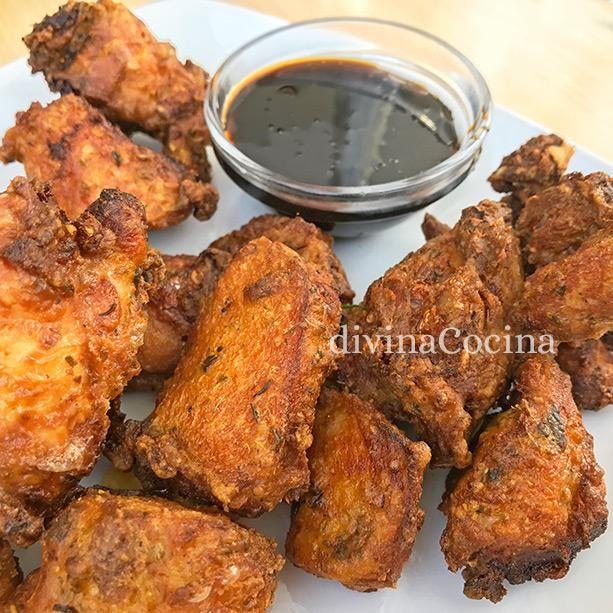 pollo frito soja y miel 2