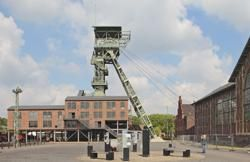 Schachthalle und Födergerüst, Foto LWL-Industriemuseum, Martin Holtappels